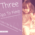Three Tips to Keep Your Baby Safe with Baby Beanbags