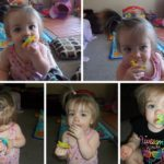 Baby Sure Does Love Her Difrax Pacifier!!