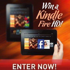 Enter to Win The Kindle Fire Giveaway