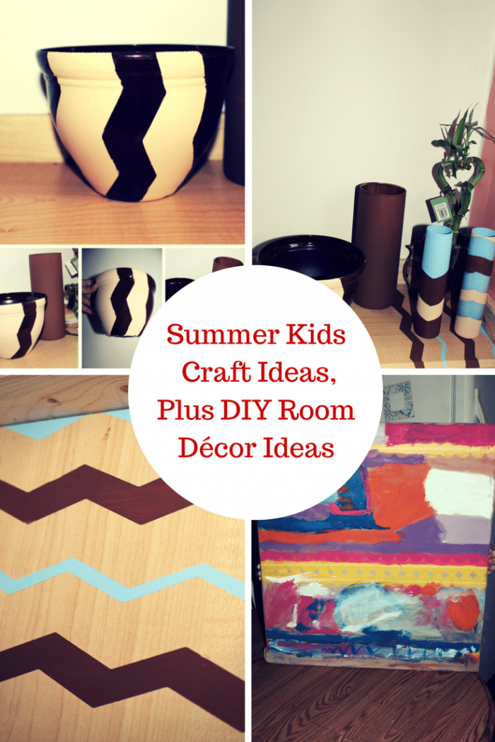 diy home decor kids room summer craft ideas plus diy room d 233 cor ideas 12100