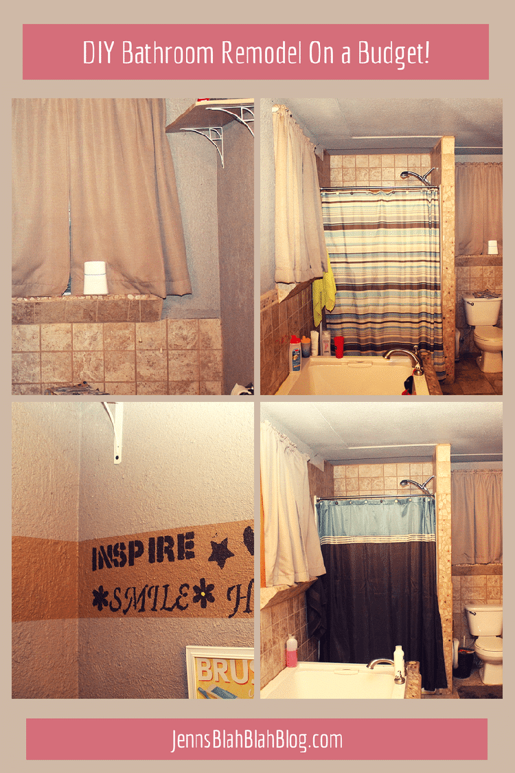 DIY Bathroom Remodel With FrogTape NEW Texture Surface™