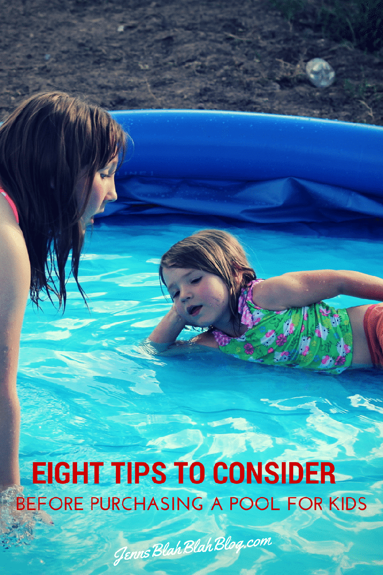 Eight Tips To Consider Before Purchasing a Pool For Kids