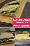 Happy National Sandwich and Panini Month easy to make sandwich and panini recipes 100x150 Grilling Indoors: 2 Of My Favorite Food Recipes For Stovetop Grilling
