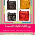 Don't Miss Your Chance To #Win Another Coach #Giveaway!