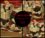 Mason Jar Berry Trifle Recipe 150x125 Chocolate Covered Strawberry Cupcake Recipe   Must Try #Recipe