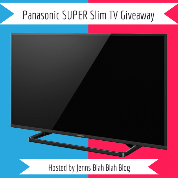 Welcome to the Panasonic 32' Super Slim LED LCD TV Giveaway