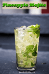 Pineapple Mojito 100x150 Best Darn Hamburger with Egg In The Middle #Recipe