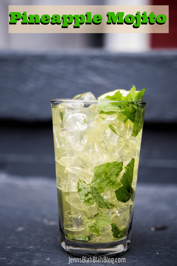 Celebrate National Mojito Day: Pineapple Mojito Drink Recipe