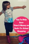 tips to help save time and money on back to school shopping