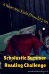 Why Should Kids Join The Scholastic Summer Reading Challenge
