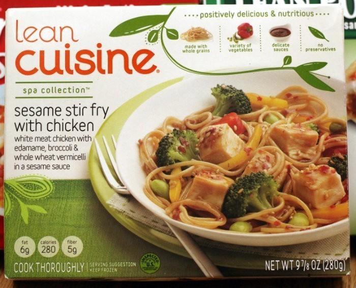 Fresh vs frozen how fresh stays fresh for Lean cuisine vs fast food