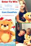 enter to win a talking teddy bear from cloudpets 100x150 Fanny Foozle Kids Book #Giveaway 2 Winners (WW)