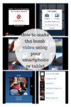how to make a video using your smartphone 100x150 #Panasonic JetForce Vacuum MC UL427 | Mommy Approved and Then Some