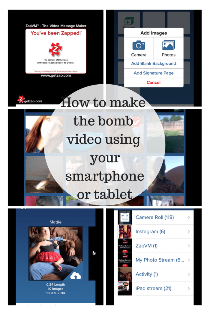 how to make a video using your smartphone