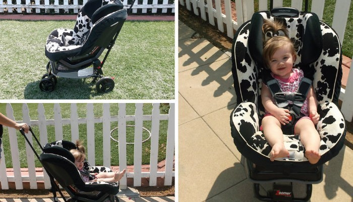 The Lilly Gold Zoomer Is The Ultimate Universal Stroller!!