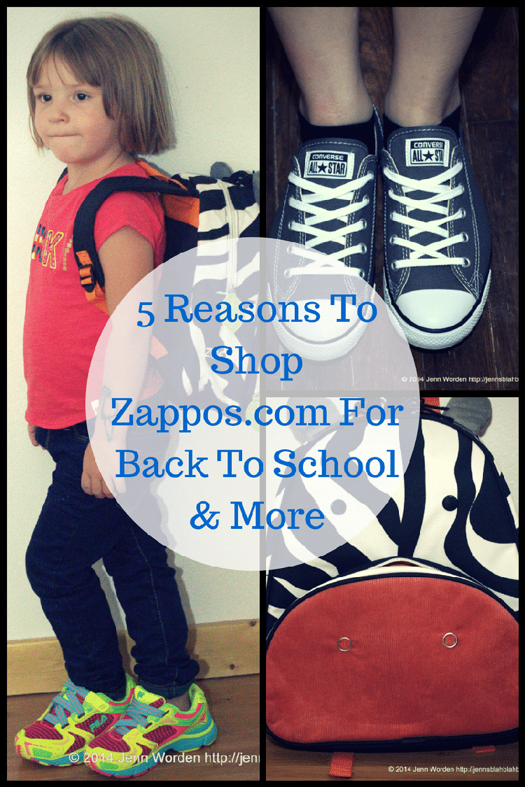 5 Reasons To Shop Zappos.com For Back To School Shopping