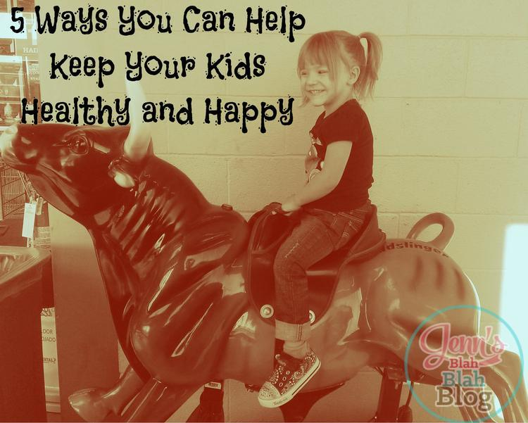Five Ways To Help Keep Your Kids Healthy & Healthy