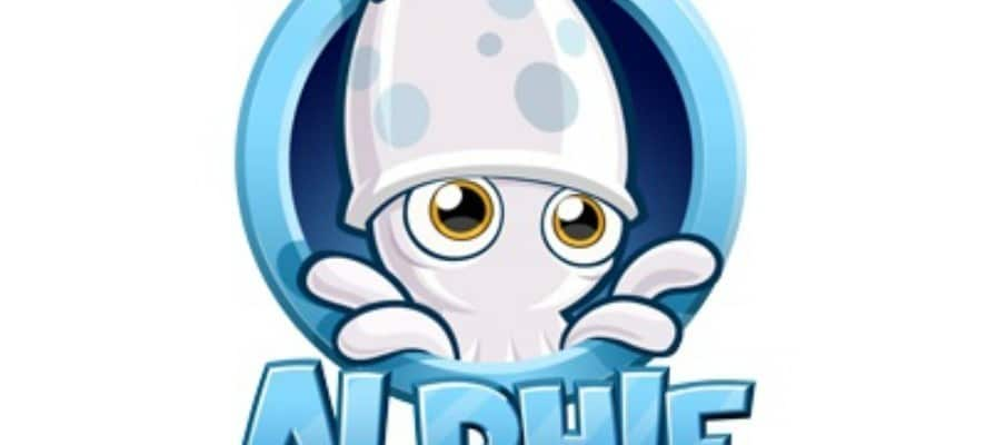 Childrens Mobile Game: Alphie the Squid