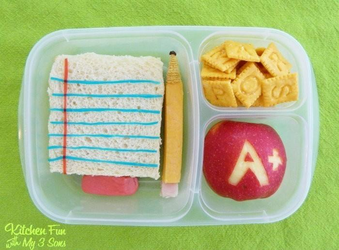 Back to School Bento Lunch | #LunchIdeas http://jennsblahblahblog.com #jbbb