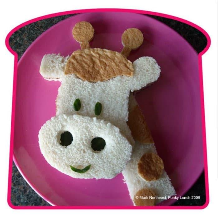 Giraffe sanwich | #LunchIdeas http://jennsblahblahblog.com #jbbb