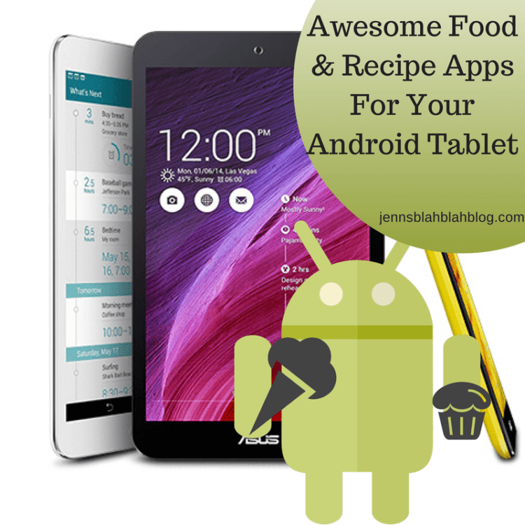 Rockin' Food & Recipe Apps For Your Andoid Tablet