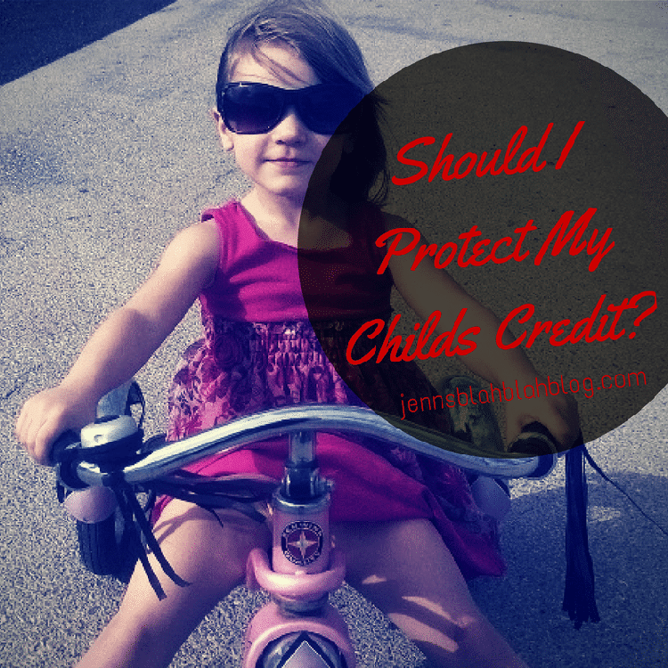 Should I Protect My Childs Credit
