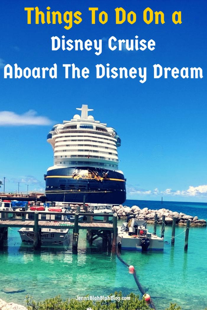 Things to do on a Disney Cruise Disney Magic