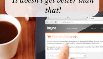 imyne shop earn give earn cash back
