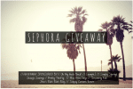 sephora gift card giveaway 150x100 Chicken of the Sea Knows How To Celebrate 100 Years of Good! #100YearsOfGood