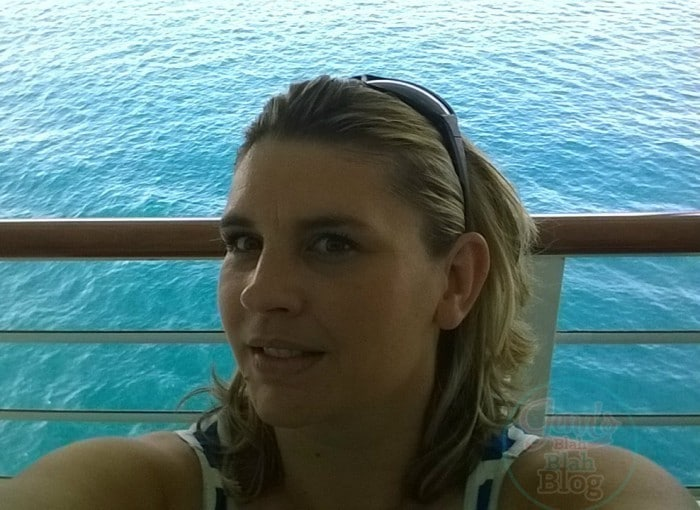 sit on the deck on a cruise