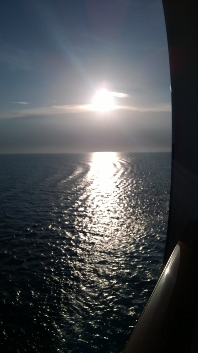 sunsets on a cruise