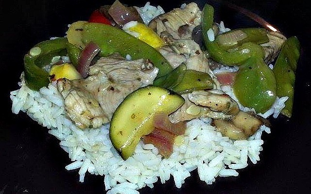 Smithfield Garlic and Herb Pork Stir-Fry Recipe