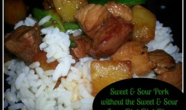 Sweet and Sour Pork without the Sweet and Sour Recipe