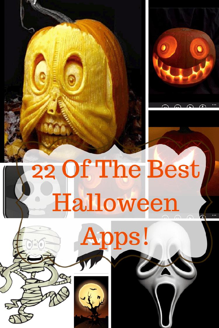 22 Of The Best Halloween Apps!