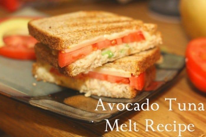 Easy Dinner Ideas Avocado Tuna Melt Recipe