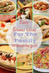 Easy Dinner Ideas For The Family Without The Guilt