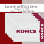 Enter To #Win The $200 Kohl's Gift Card #Giveaway