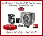 Keurig 2.0 K350 Brewing System & Seattles Best Coffee Giveaway