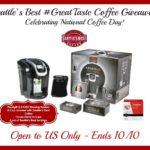 Keurig 2.0 K350 Brewing System & Seattles Best Coffee Giveaway