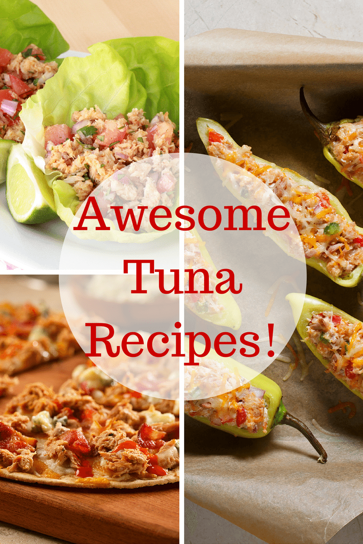 Looking for Healthy Dinner Ideas? Here is 3 Easy Tuna Recipes
