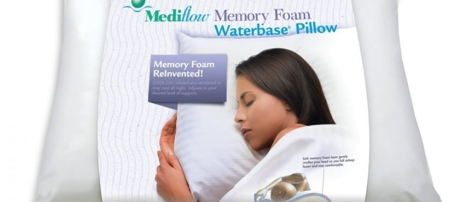 Sleep Tight with the New Memory Foam Waterbase® Pillow