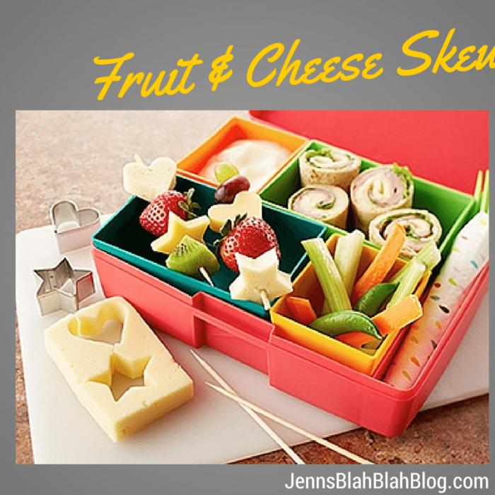 Fruit & Cheese Skewers