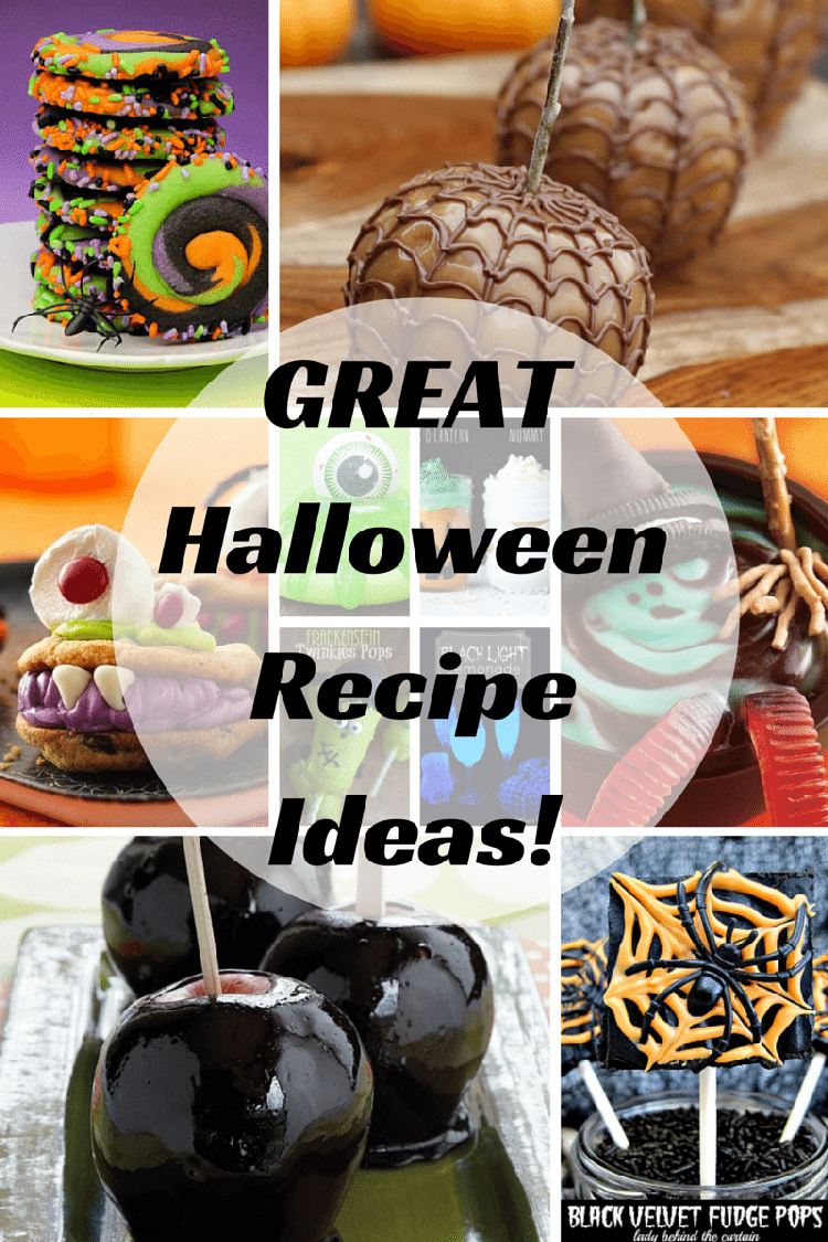 halloween recipes | 22 awesome halloween recipe ideas | jenns blah