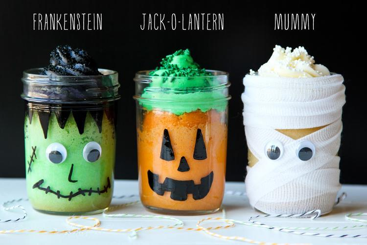 Cake Recipes In A Jar: 22 Awesome Halloween Recipe Ideas