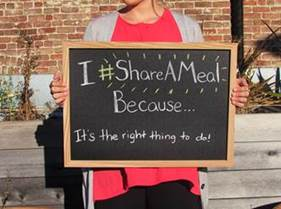 Stop Child Hunger In America & Share A Meal