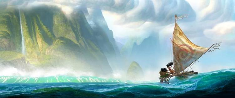 Walt Disney Animation Studios Moana