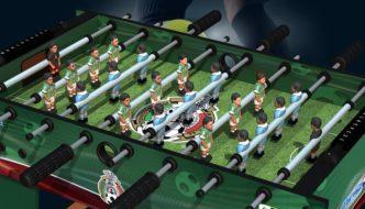 Gift Ideas: Minigolsus Foosball Table & Real Soccer Teams