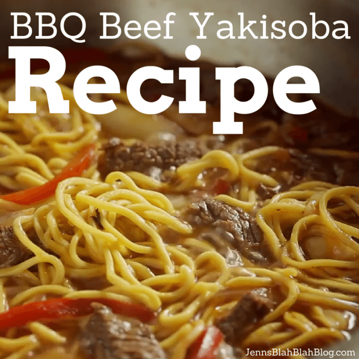 BBQ Beef Yakisoba Recipes