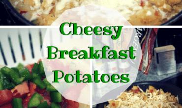 Breakfast Ideas: Cheesy Breakfast Potatoes and String Cheese Scrambled Eggs