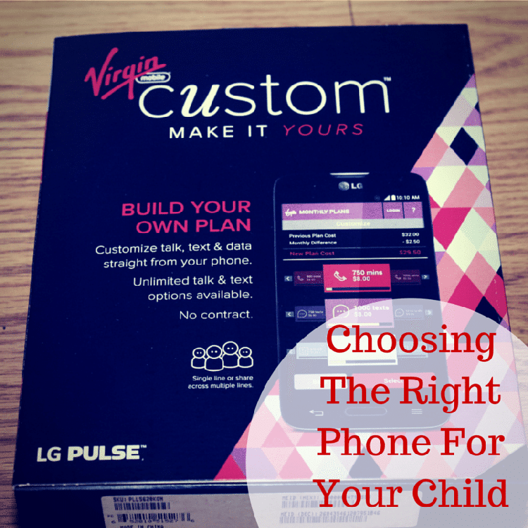 Choosing The Right Phone For Your Child
